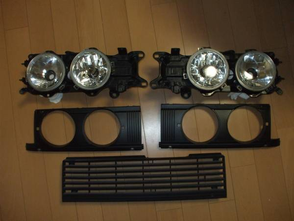 Carina van TA67 headlights on Auctions Yahoo