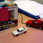 Down on the desk: Toyota Sprinter Trueno AE86 mouse