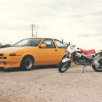 Fifteen years ago: yellow Hachiroku