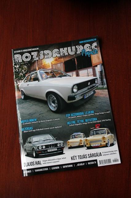 Rozsdakupac magazine cover