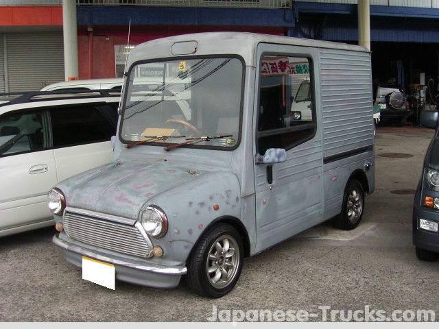 Mini nosejob Suzuki Alto CA72V van