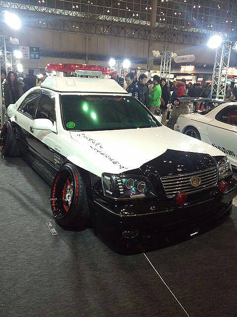 Police car in VIP style?