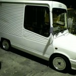 WTF: Suzuki Fronte delivery van on SSR Mk I rims!