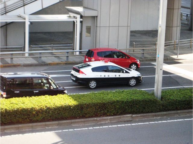 Tokyo Police Honda Insight