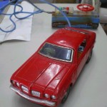 Toys: vintage Bluebird-U 2000GT RC car