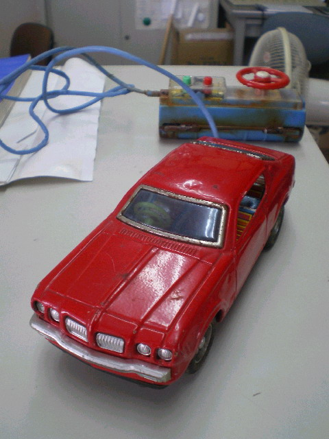Bandai Nissan Bluebird U 2000GT RC car