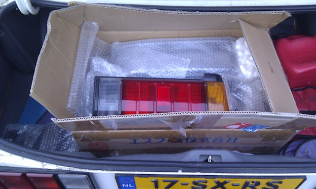 JDM Carina AA60 tail lights