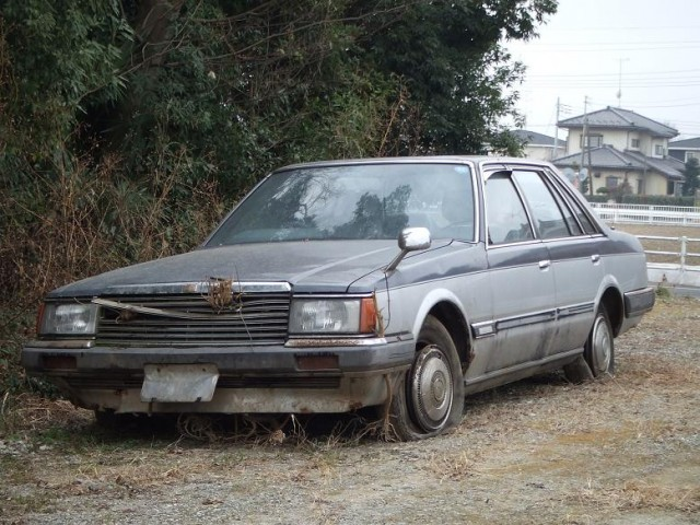 Nissan Laurel C31 rustoseum