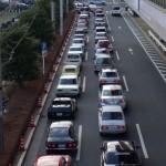 A classic traffic jam!