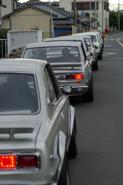 Skyline GT-R owners club new year drive