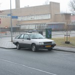 Down on the Street: Nissan Sunny Coupé