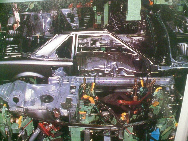 Manufacturing the Toyota MR2 AW11