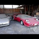 Only in Japan: Beat and Countach gathers dust