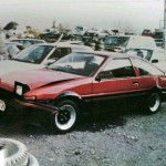 Wrecked: red panda Sprinter Trueno GT Apex