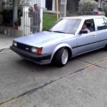 Carina Sightings: Bafo's lowered 1984 Carina