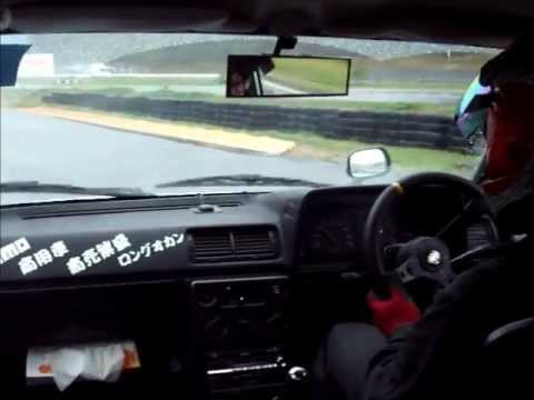 Carina KA67V van drifting on Suzuka