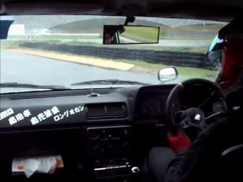 Carina KA67V van drifting on Suzuka
