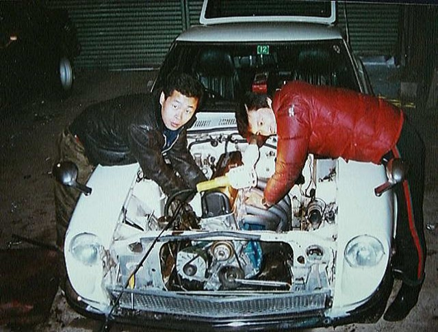 Family Album Treasures: dirty hands Fairlady Z