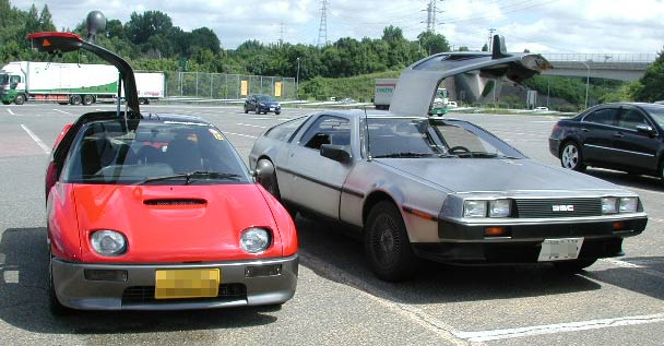 John Delorean and his little brother AZ-1