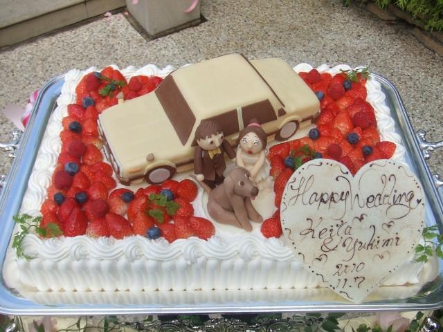 Corolla KE70 wedding cake