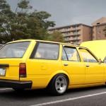 Carina Sightings: yellow van in Motegi