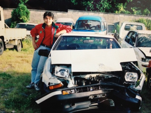 Wrecked Toyota Sprinter Trueno AE86