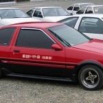 Brilliant: Maeda Tomato Shop panda red Levin AE86