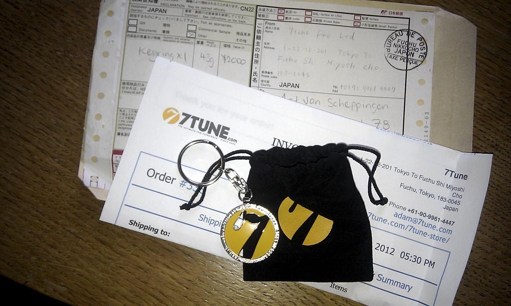 7Tune Keyring