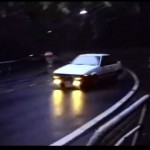 Touge drifting in 1990 on the Hakone mountain pass