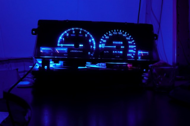 AE86 Trivia Ivan141's RGB dash project