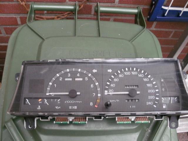 AE86 Trivia EUDM Toyota Corolla GT AE86 gauge cluster