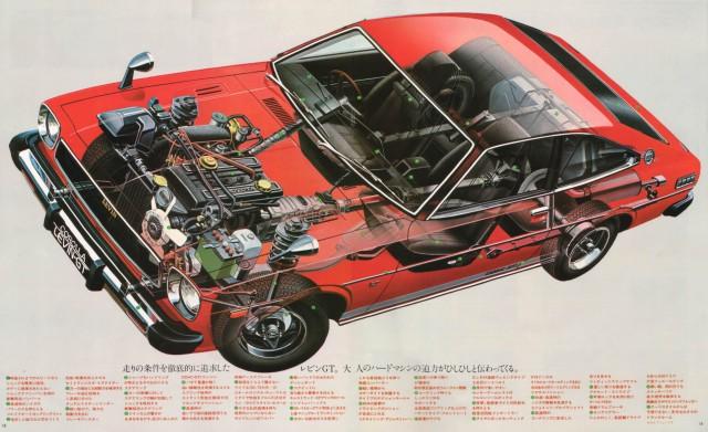 Cutaway Toyota Levin TE51