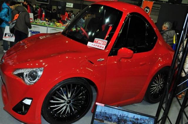 Life sized Toyota TRD 86 at Tokyo Auto Salon 2013