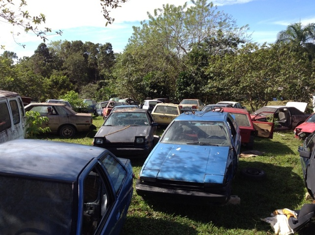 Count the hachis on this Puerto Rican Toyota Cemetery