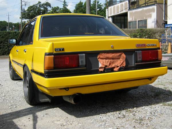 Yellow Carina GT AA63 not for sale!
