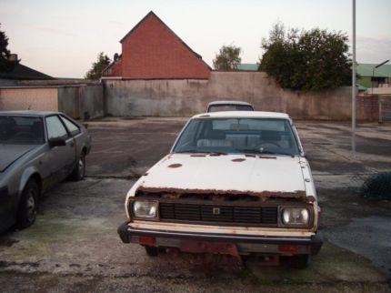 Datsun Violet A10 SSS Rustoseum