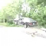 Commercial time: Jumping beater Celica A60