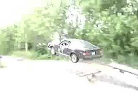 Flying Toyota Celica RA64!
