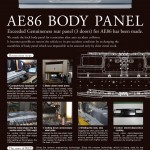 WTF: New body panels for the AE86!