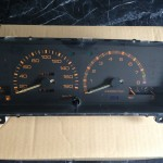 Auctions Yahoo: Black Limited AE86 gauge cluster