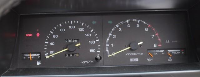 AE86 trivia: Australian zenki AE86 gauge cluster