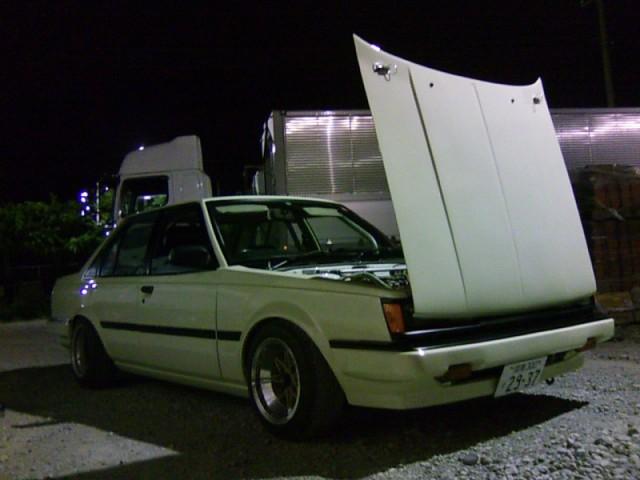 Toyota Carina flipfront hood