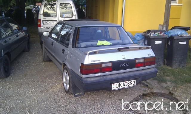 Down on the Street: Hungarian Honda Civic Mk3 AJ