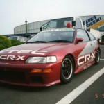 Picture of the week: Honda CRX marshall car
