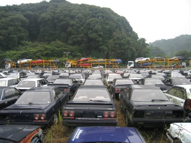 Japanese Rustoseums: R31 house junkyard
