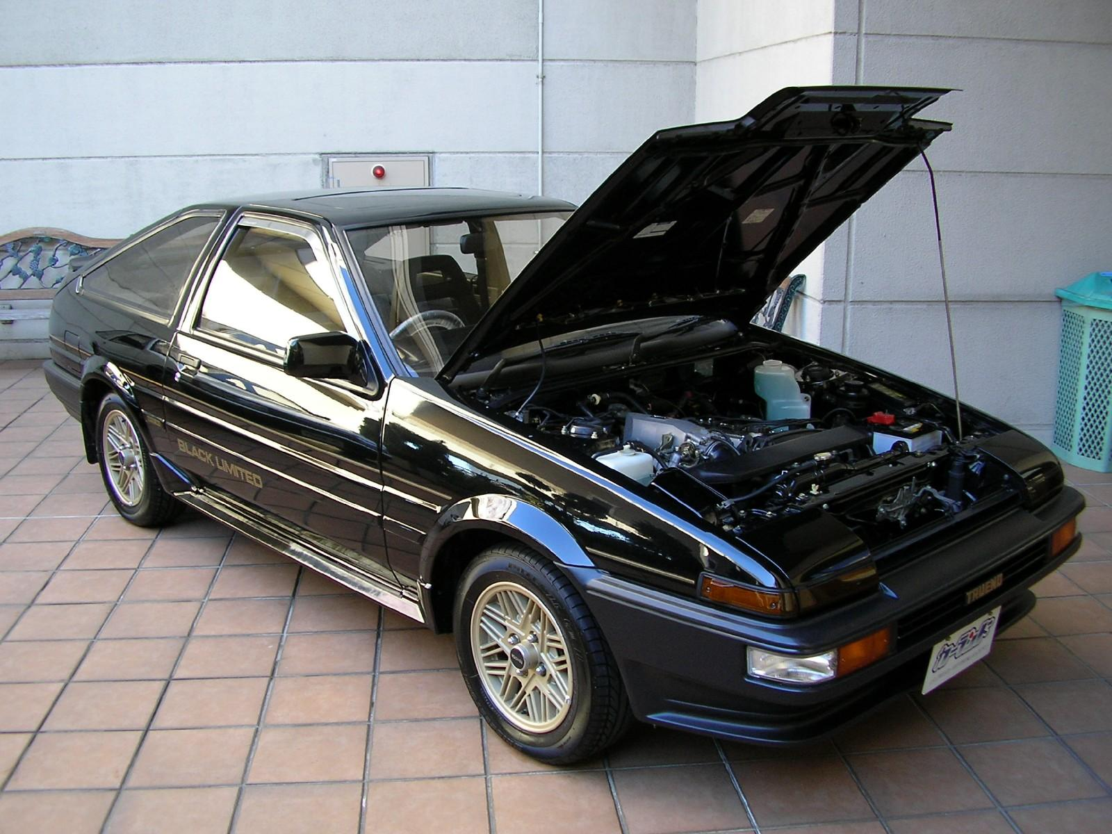 ae86 trivia all sprinter trueno ae86 black limited facts. Black Bedroom Furniture Sets. Home Design Ideas