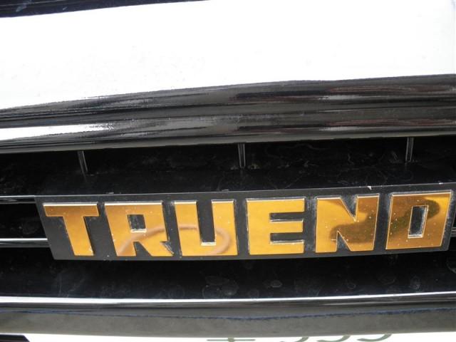 Toyota Sprinter Trueno AE86 Black Limited grille emblem