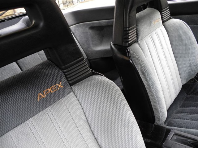 Toyota Sprinter Trueno AE86 Black Limited Interior