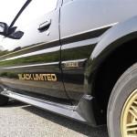 AE86 Trivia: all Sprinter Trueno AE86 Black Limited facts