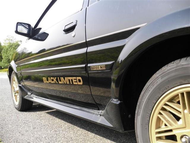Toyota Sprinter Trueno AE86 Black Limited livery